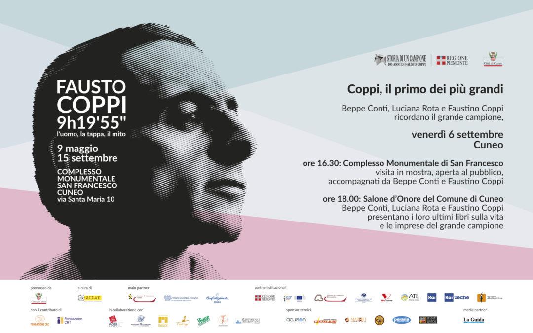 Coppi, il primo dei più grandi  venerdì 6 settembre 2019