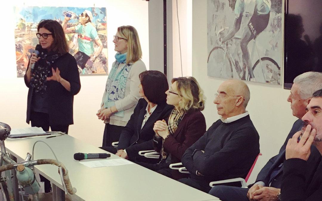 """Fausto Coppi 9h19'55"""" alla mostra Brera 100 Coppi a Milano"""